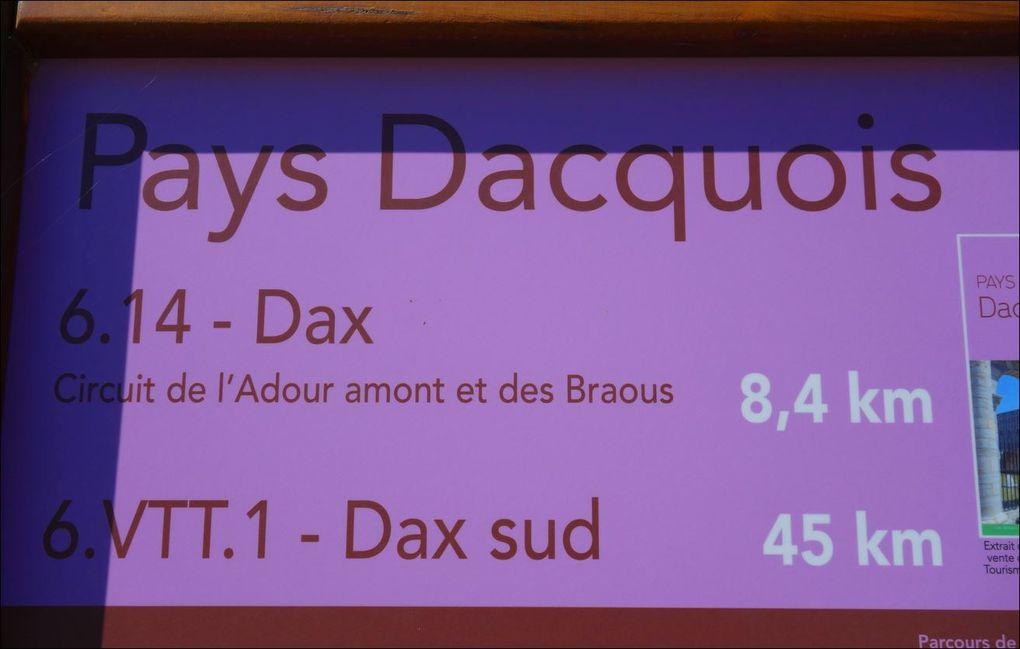 Randonnée l'Adour amont et des Braous depuis Dax A