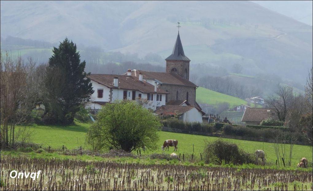 Pic Arradoy depuis Ispoure / Saint-Jean-Pied-de-Port (Rando) A