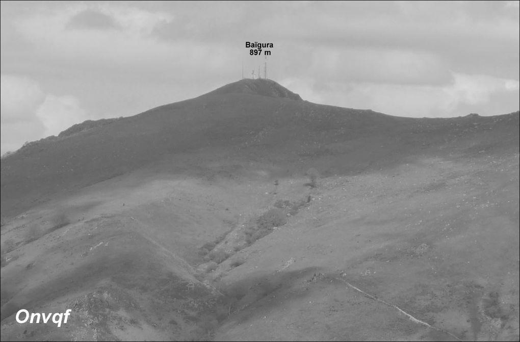 Pic et crêtes d'Iparla depuis Bidarray AAA Rando