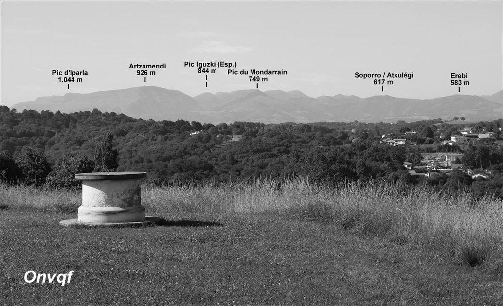 Liste de balades, promenades et randonnées au Pays Basque, classées par dénivelé positif
