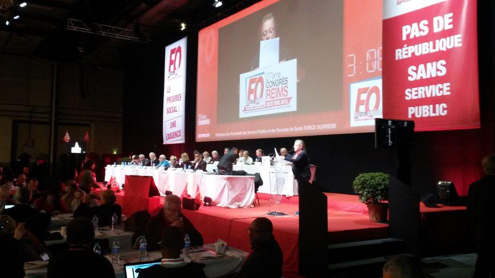 Congrès de l'union nationale FO des départements et des régions