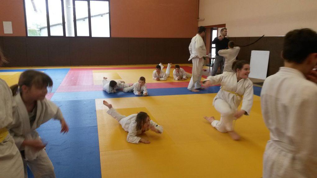 Le  tournoi de judo