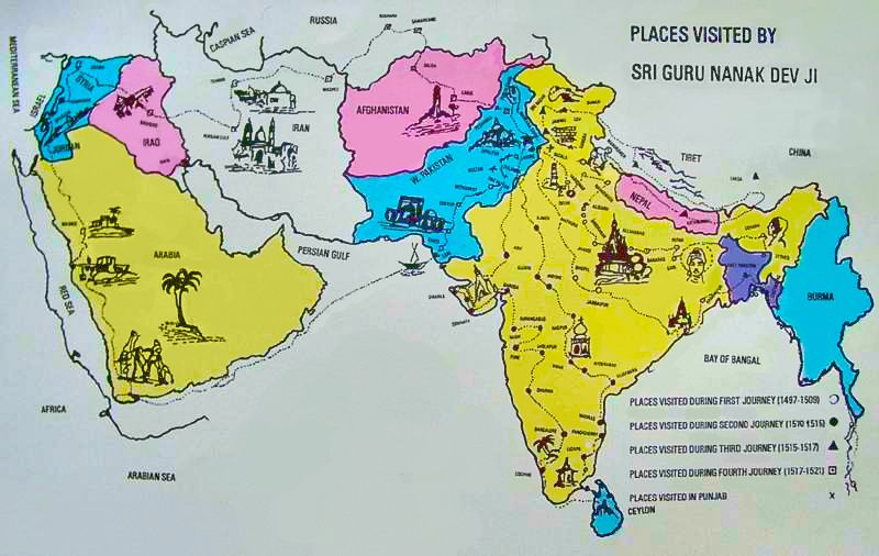 Le sikhisme et les festivités du &quot&#x3B;Guru Nanak Gurpurab&quot&#x3B;