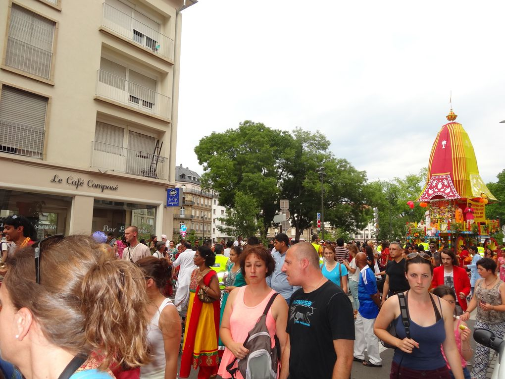 Ratha Yatra à Strasbourg 2014