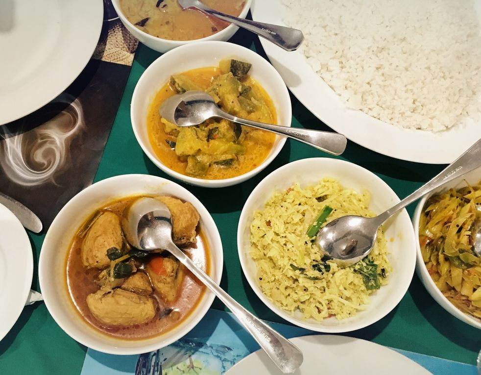 Les fameux rice and curry