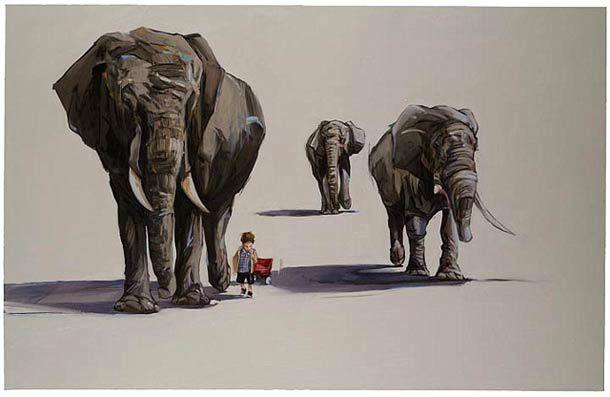 "L'image du mercredi : ""Kids and Animals"""