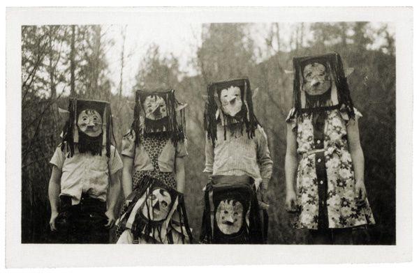 L'image du mercredi : photos de costumes d'Halloween de 1875 à 1955