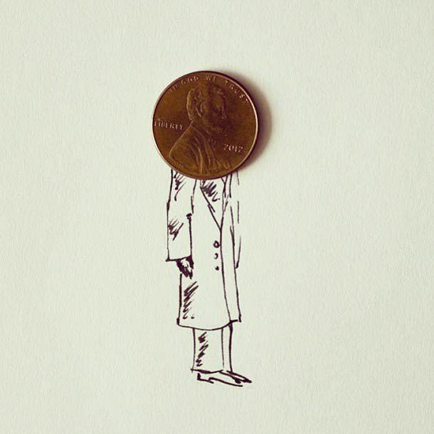 Avec des objets du quotidien : des illustrations et des assemblages créatifs