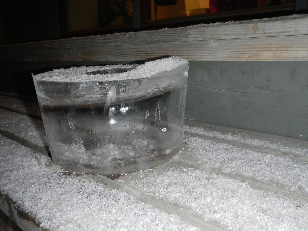 """le saupoudrage de neige fraîche (tombé cette """"nuit"""") est facultatif ! &#x3B;-) Il y a 3 photos mais pour l'instant elles n'ont pas l'air de vouloir défiler, espérons que ça marche après publication"""
