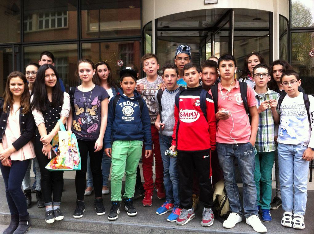 2 jours à Paris! un voyage de l'accompagnement à la scolarité!