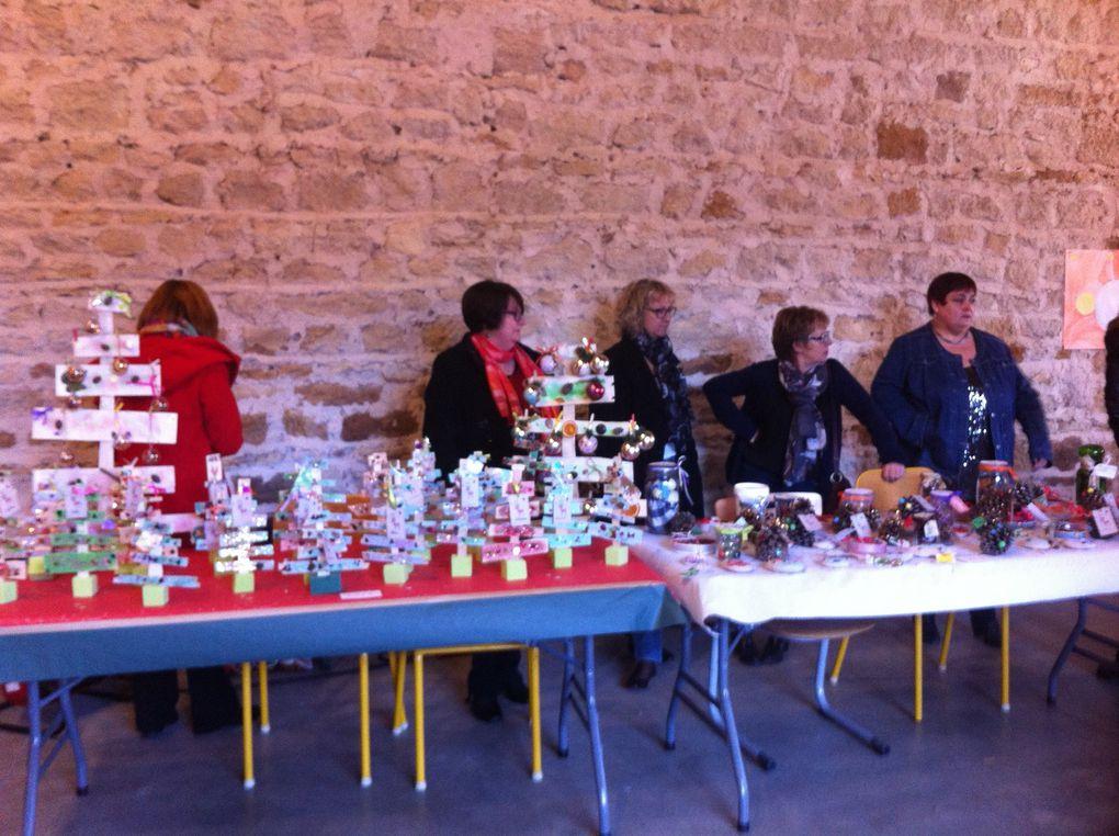 Marché de Noël, un événement interservices, espace Montcervier