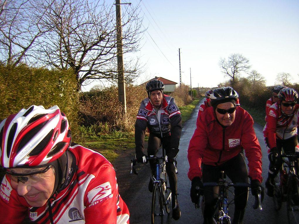 La dernière sortie de l'année pour les cyclos du SVS...