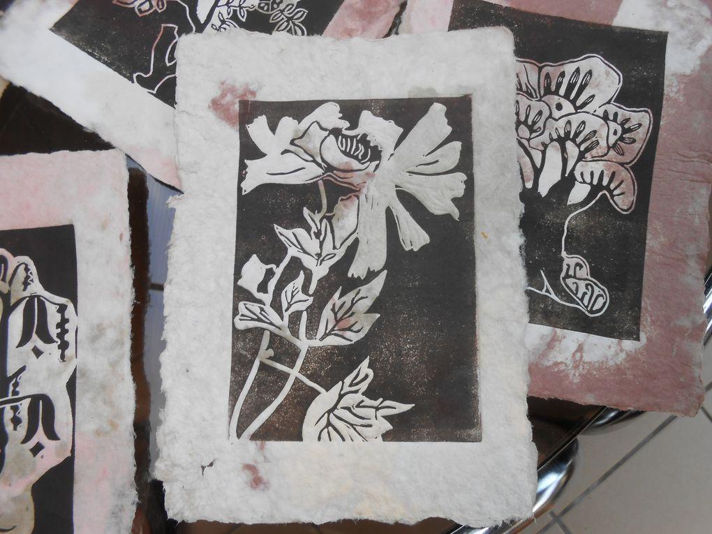 Les livres des arbres  et des fleurs, début !!!