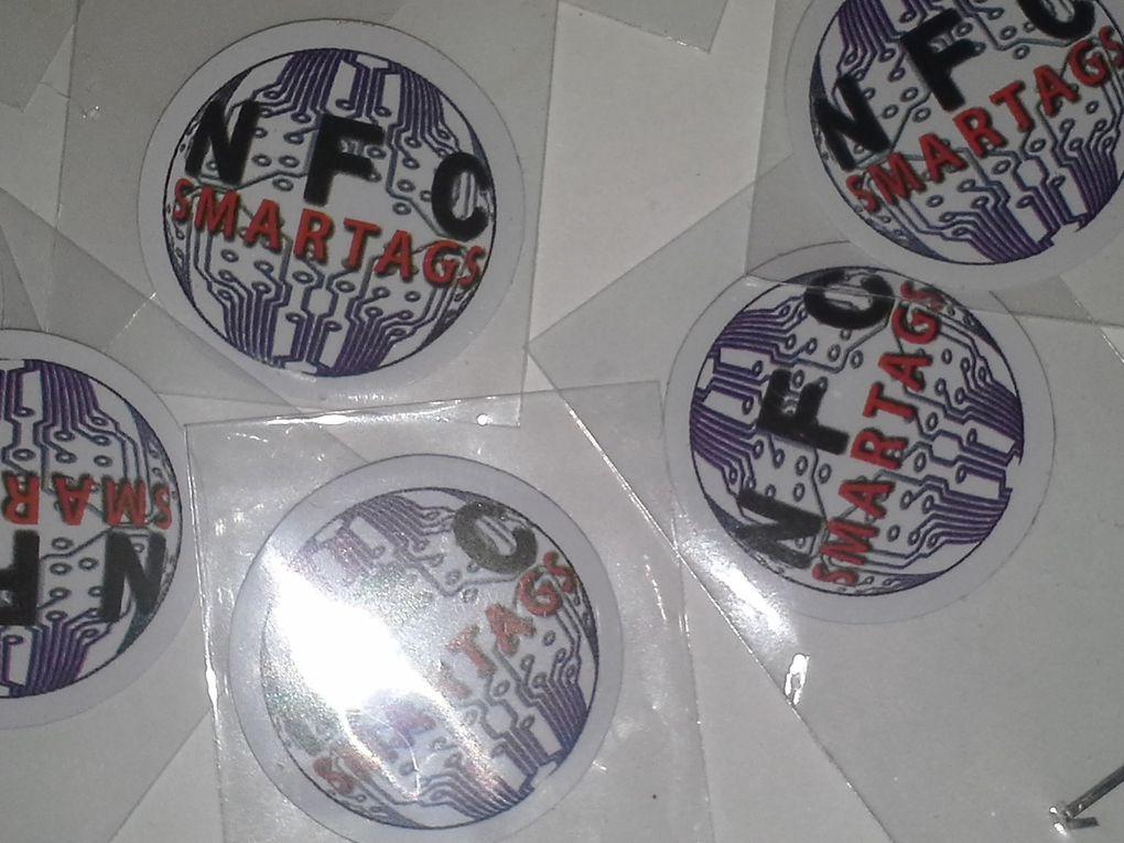 Nouvelle collection de tags NFC arrivée !!!