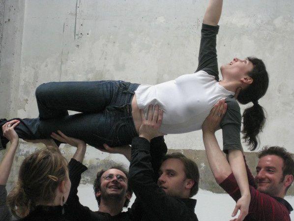 répétitions de L'ACCENT CIRCONFLEXE... d'Ariane Gibrat, par Clara Dumond.