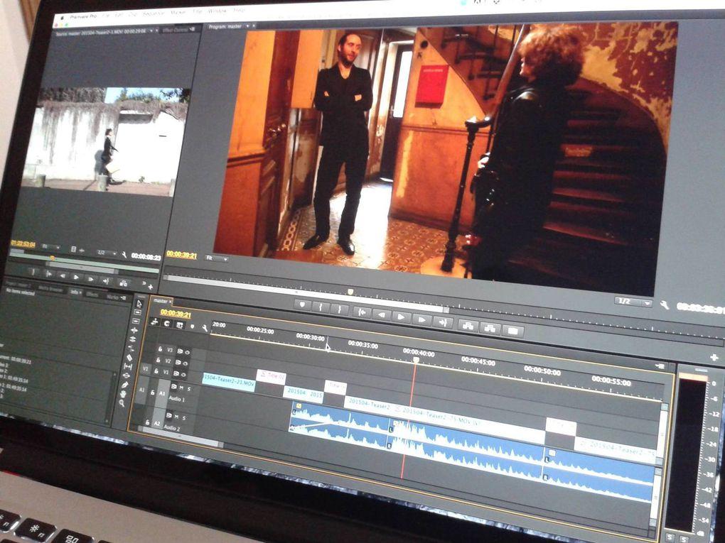 tournage et montage du deuxième teaser