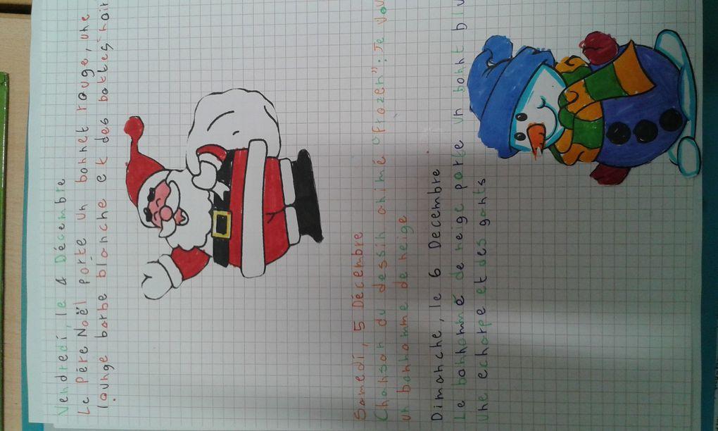Le Noël de mes artistes de sixième
