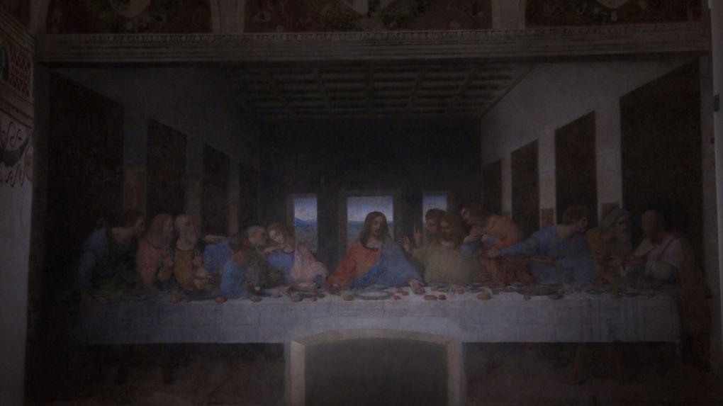 Léonard de Vinci et la &quot&#x3B;Cène&quot&#x3B;