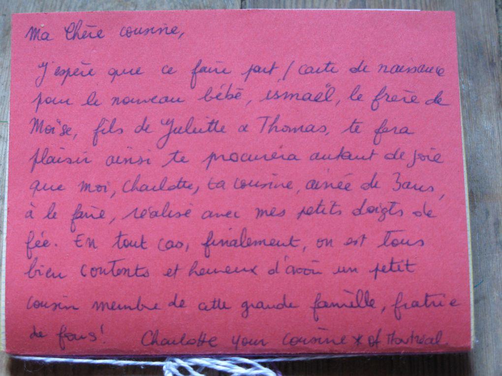 faire part de naissance dedicade -ismael-theme maitresse- prof de francais- charlotteblabla blog*
