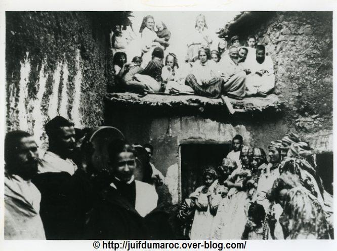 Village de Asni , son mellah juif.