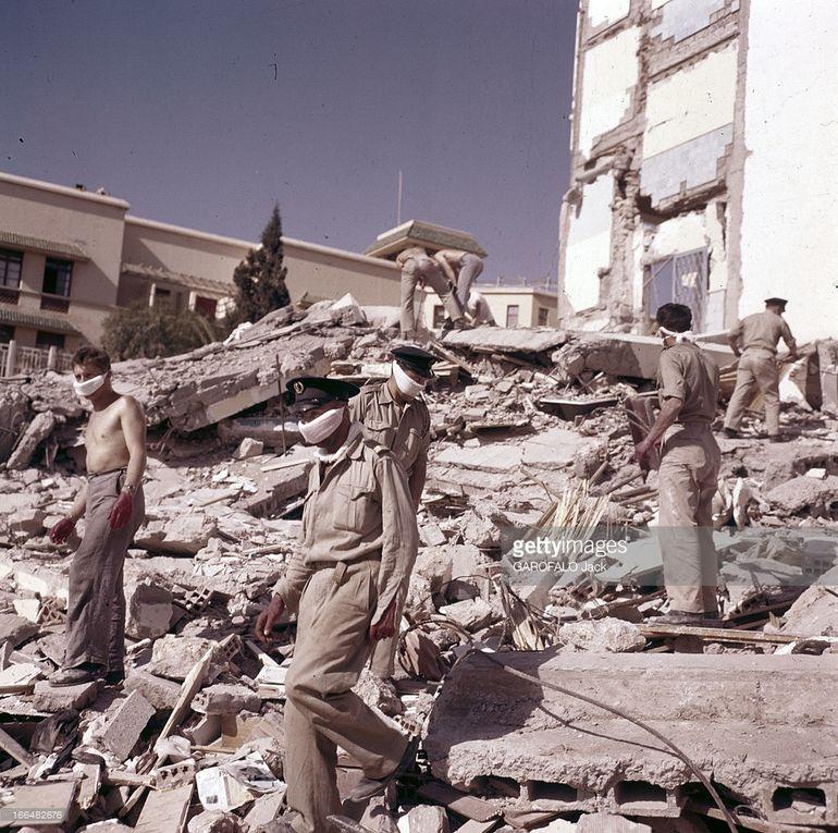 Le miraculé du séisme d'Agadir 1960.