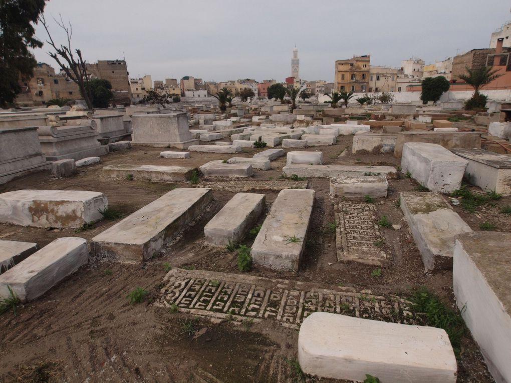 Cimetière Israélite de la Rue Krantz à Casablanca. (Photos Conseil des communautés israélites du maroc)