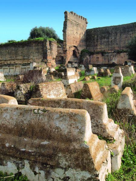 Ancien cimetière israélite de Meknès. (Photos Conseil des communautés israélites du maroc)