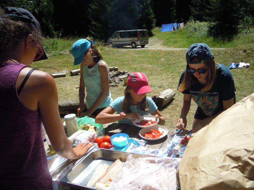 Les grands : la vie au camping