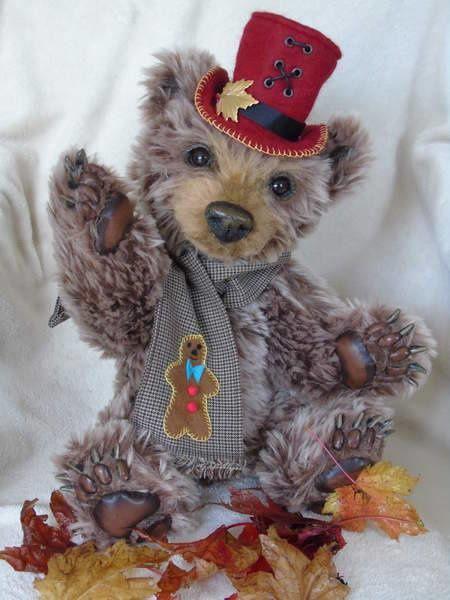 J'adoreeeeeeeeeee vous faire comprendre ce qui est très surprenant avec les créations  des ours de Sylvie Dassonville