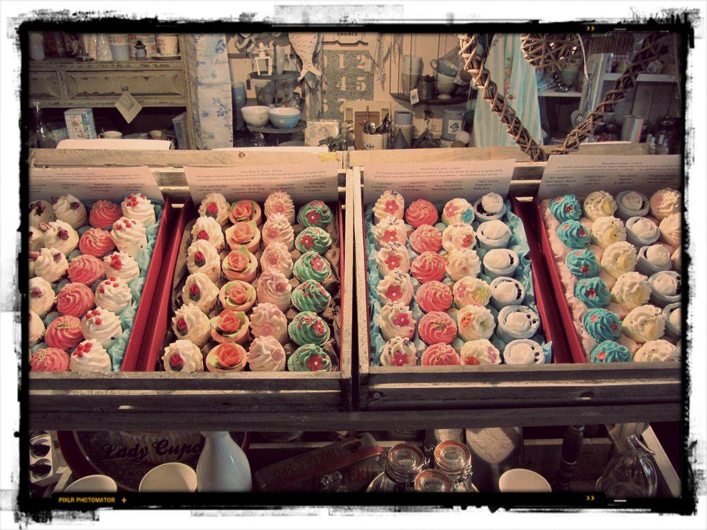 """De nouveaux parfums pour les """"Cupcakes"""" de bain, et la collection """"Lady Cupcake"""" de """"Natives."""