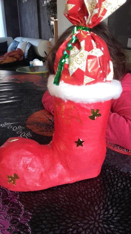 les plus grands prendront un bonbon par jour jusqu'a Noel