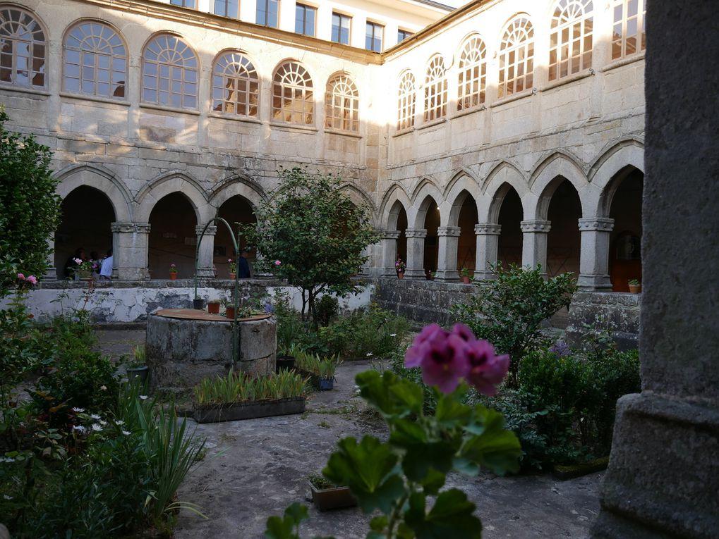 Exposition à l'ancienne prison de Sarria, et workshop sur kakémonos récupérés