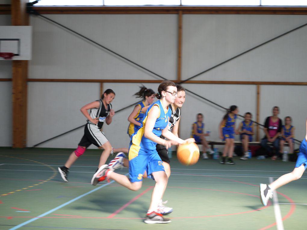 U13F : Match AJCB Pontailler - EBFG : victoire 44 - 30