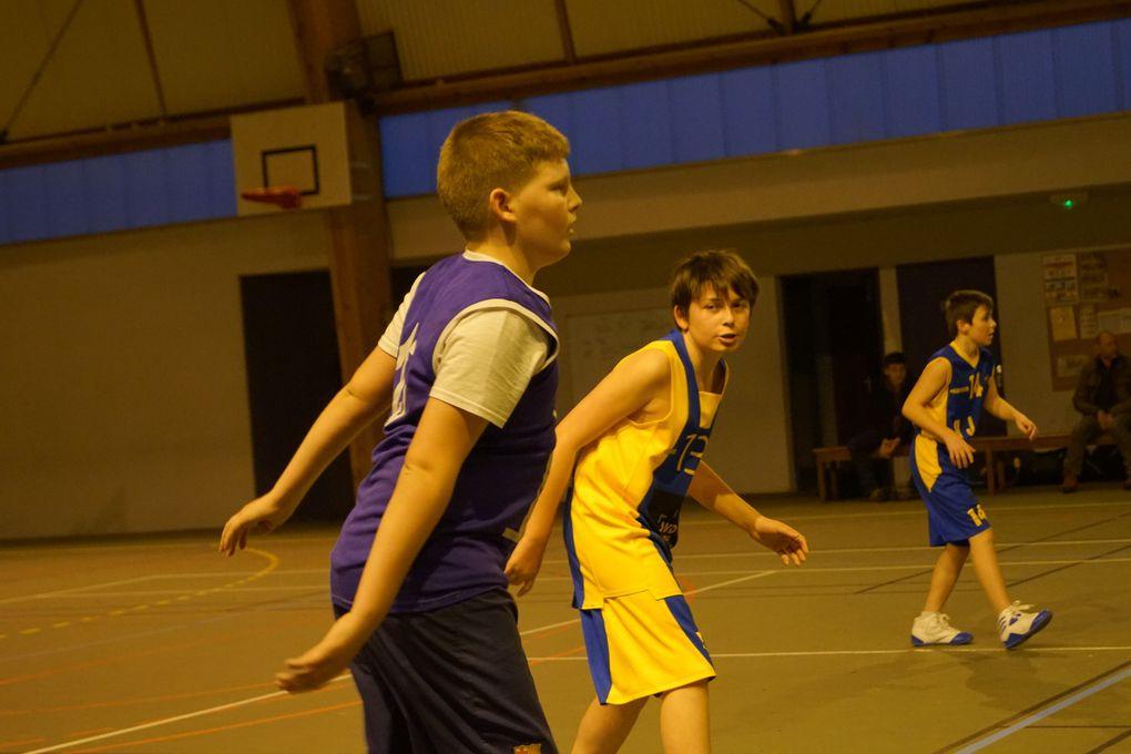 PHOTOS des U13 mixtes et U15 Masculins (Merci à Sylvain, papa de Pierrick, U15)