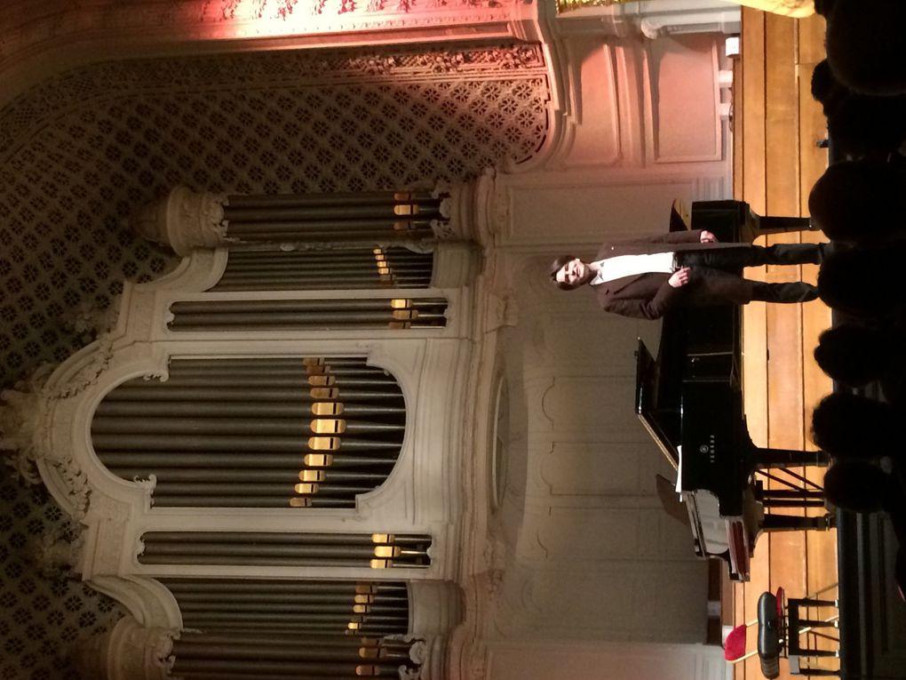 Quelques images du concert salle Gaveau