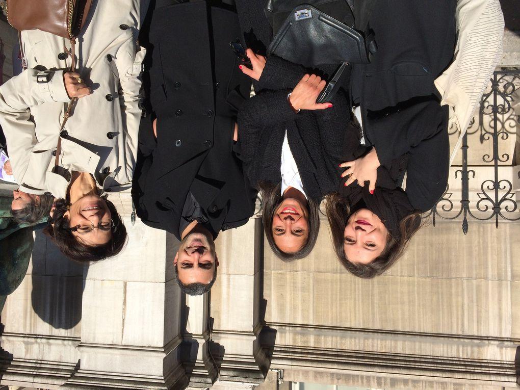 Vernissage officiel à l'Hôtel de Ville de Paris, salle des Prévôts