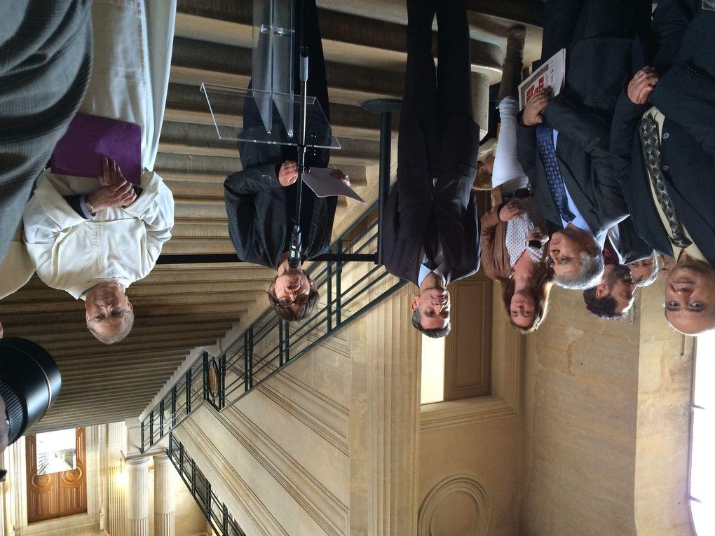 Vernissage de l'exposition en présence des officiels et partenaires, à l'Hôtel de Soubise, et visite de l'exposition