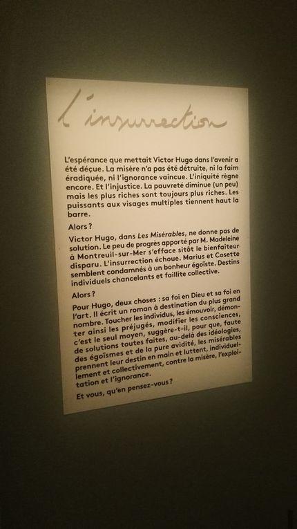 """L'exposition, in situ -Centre Pénitentiaire Sud Francilien de Réau : """"Les Misérables"""", Victor Hugo"""