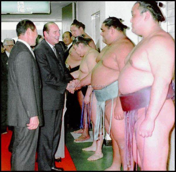 Quelques photos représentatives de l'exposition Jacques Chirac &#x3B; Retrouver mon LiveTweet #vernissage @i_kevorkian