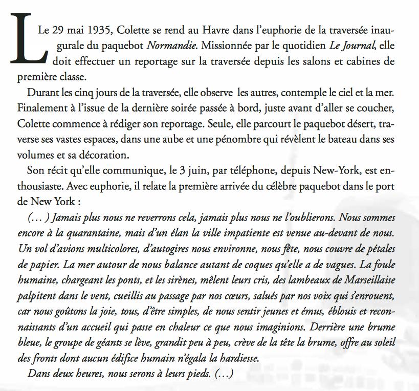 Le Normandie 1935