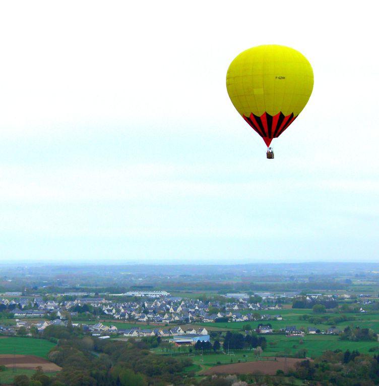 mon tour en montgolfière