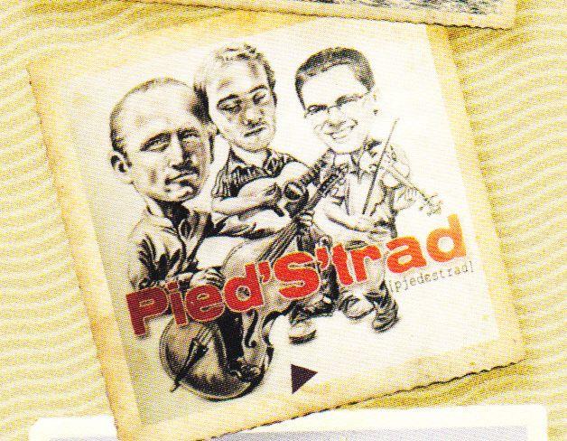 """Pied'S'trad ( Folk québécois ) groupe composé de 3 anciens musiciens du """"Diabl' dans la fourche"""""""