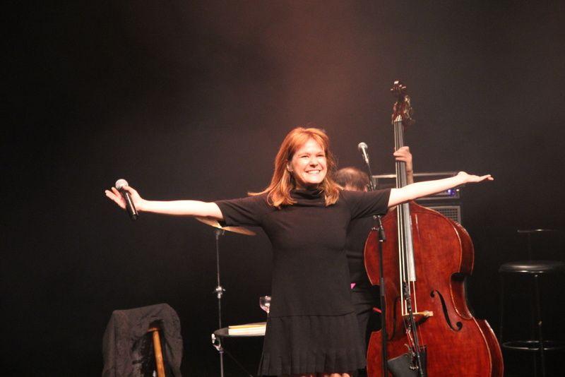 Concert d'Agnes Bihl au Trianon Transatlantique  à Sotteville les Rouen le17-01-2014