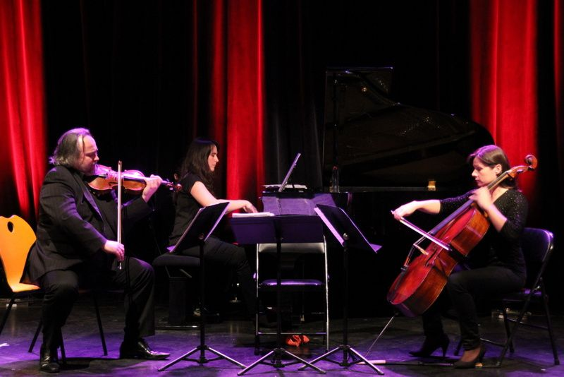 Concert de professeurs du conservatoire de musique de Caux-vallée de seine à l'Arcade le 15-02-2014