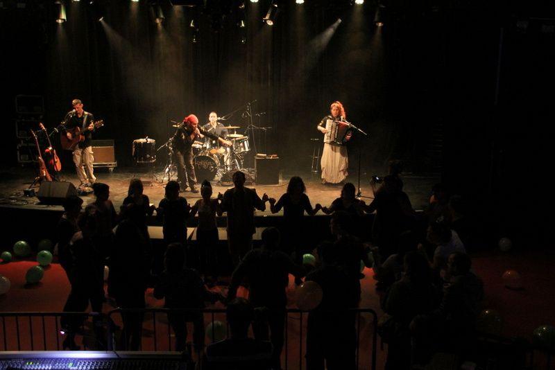 Kalffa groupe de Rock celtic le 25 mars 2014 à l'Arcade