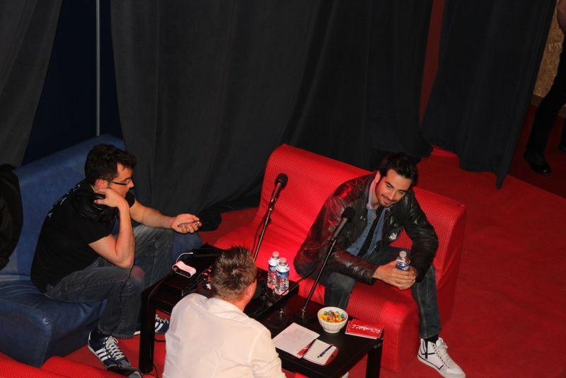 Interview d'avant concert Al.Hy, frédéric Lerner et  You § you