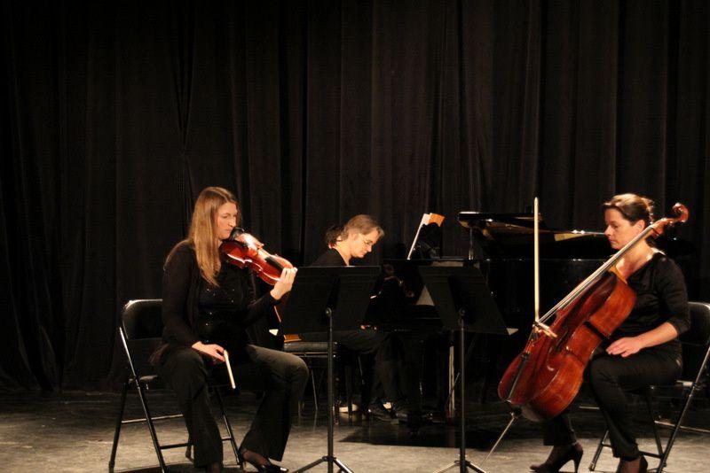 Trio à l'est conservatoire de la CVS Arcade le 17-02-15