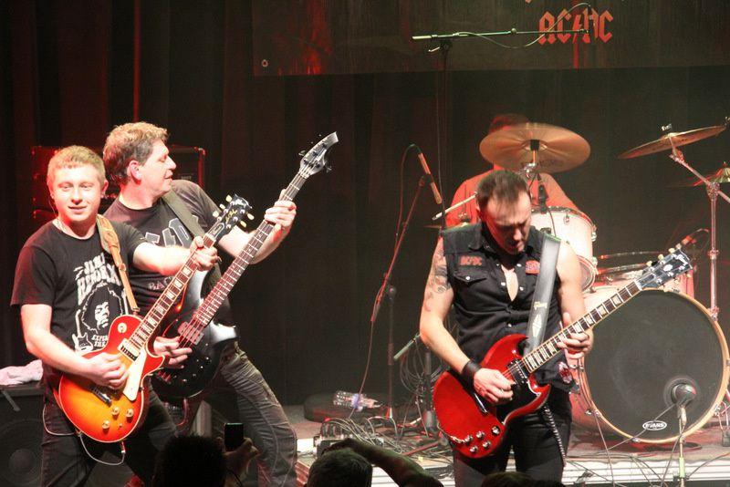 BLOODY ROSIE (Tribut of AC/DC) à l'Arcade le 14-03-15