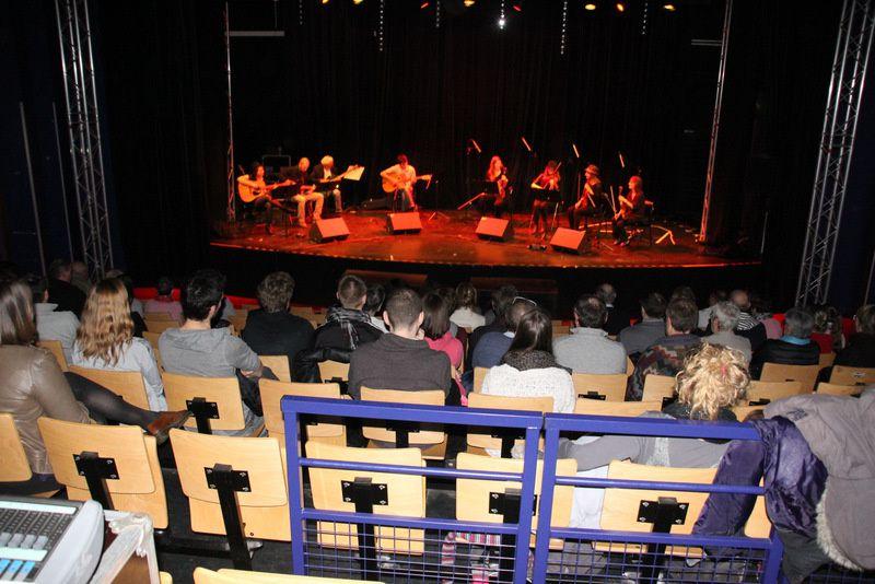 Jazz manouche à l'Arcade le 03-04-2015