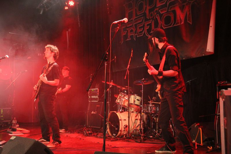 HOPE OF FREEDOM à l'Arcade le 23-05-15